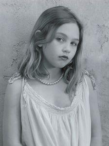 Talia, aged eight