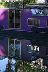 Purple Houseboat