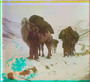"""At the Saliuktin Mines on the Outskirts of Samarkand, Turkestan, between 1905 and 1915 © Sergei Mikhailovich Prokudin-Gorskii, from the book """"Nostalgia"""". Images courtesy US Library of Congress and Gestalten publishers, Berlin."""