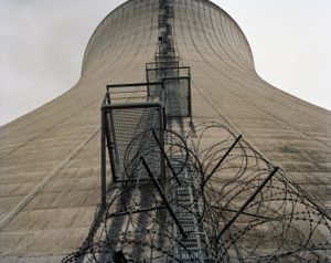 Nuclear Power Plant, Grafenrheinfeld, cooling tower © Michael Danner