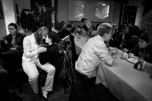 Queer (transgender) wedding, officially registered in Moscow, Russia, 2016