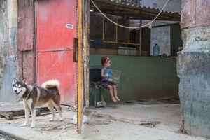 havana street scene #6