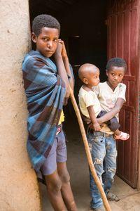 Children,  Awra Amba, Ethiopia