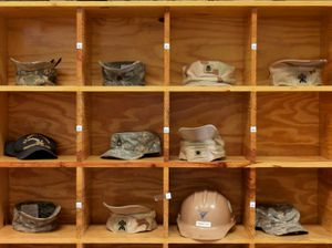"""Naval Base Headgear from """"If The Light Goes Out: Home from Guantanamo"""" © Edmund Clark"""