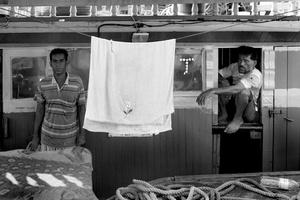Iranian fisherman