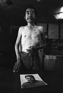 Daniel Salmon, Vietnam War Veteran, San Antonio, Texas, 1981 © Wendy Watriss