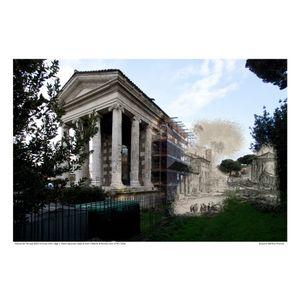Tempio della Fortuna Virile [Vedute di Roma] circa 1778 / 2016