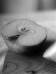 a half apple