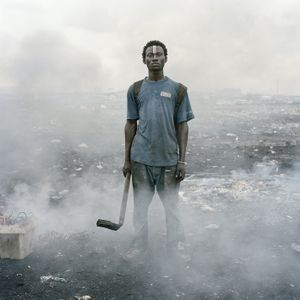© Pieter Hugo, Aissah Salifu, Agbogbloshie Market, 2010, Accra, Ghana. Series: Permanent Error