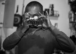 Through the camera