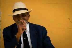 Elegant man in Trinidad
