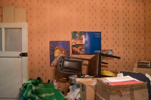 My childhood bedroom.