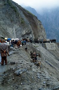 Stop and go im Himalaya