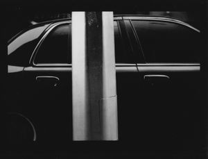 Untitled (Car and Pole), 2017