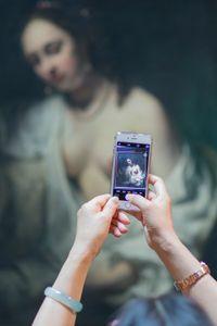 Bathseba, Willem Drost, 1654. Louvre Museum (Paris, France)