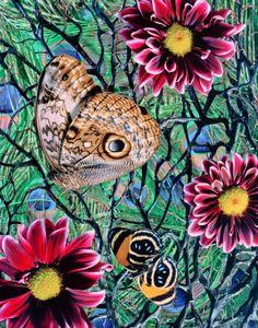 © Jennifer Formica, Peacock Nymphalidae, 2010
