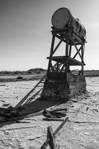 water tank, Bombay Beach.