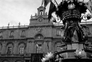 Piazza Università e Candelora.