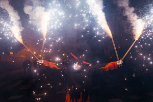 Parade of fire