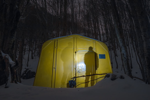 almost 50 years old bivouac, still in use