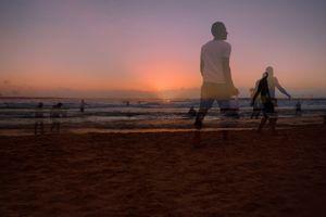 Gordon Beach Sunset, Tel Aviv