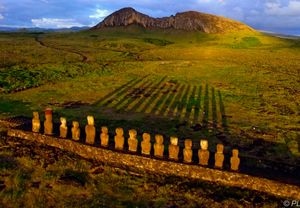 Kite Aerial Photography in Easter island
