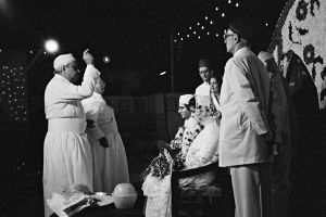 Wedding Ceremony, Parsi Wedding, Bombay, 1995