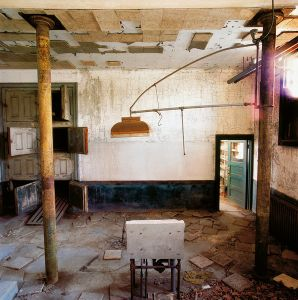 Autopsy theatre, hospital wing, Ellis Island, USA © Dan Dubowitz