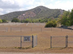 """Naval Base Cemetery from """"If The Light Goes Out: Home from Guantanamo"""" © Edmund Clark"""