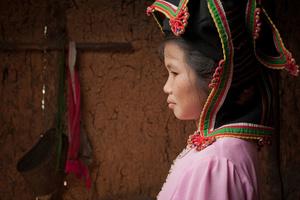 Black Thai Lady in Dien Bien Province