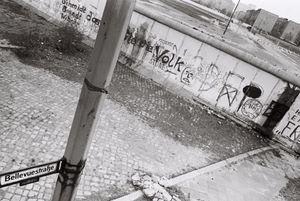 Berlin Wall 1980 #4 Potzdamer Platz