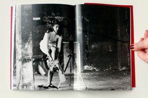 """From the book """"Francesca Woodman, The Roman years: between flesh and film,"""" by Isabella Pedicini. © 2012 Contrasto."""