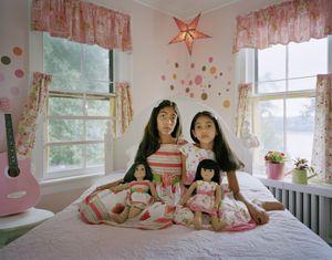 Maya and Leela, Northport, NY, 2011 From the series American Girls © Ilona Szwarc