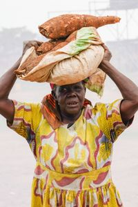 A. Jacinto: Sells Cassava for 500 shillings each. Earns about 10,000 shillings per day.