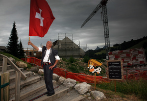 Economic boom, Moléson Village