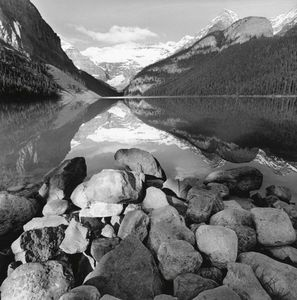 Lake Louise, Canada,  2000, © 2006 Lee Friedlander. Collection of the photographer