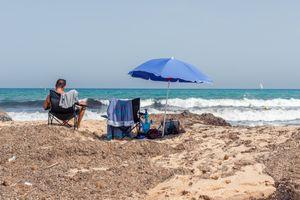 Tunisians at the beach