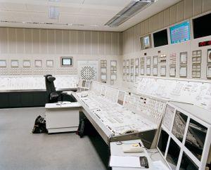 Nuclear Power Plant, Grafenrheinfeld, control room © Michael Danner