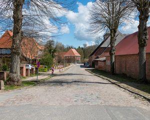 Main Road, Trenthorst, Westerau, Germany - April 2015