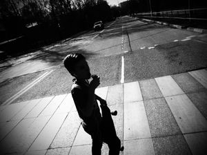 Дорога, скейт, мороженное