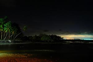 Salvador de Bahia from Itaparica island, Brazil