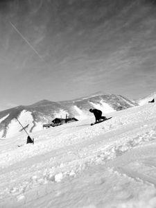 Palandöken ski resort in Erzurum.