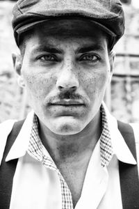 Portrait old style