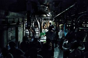 Blackout on the commuter train