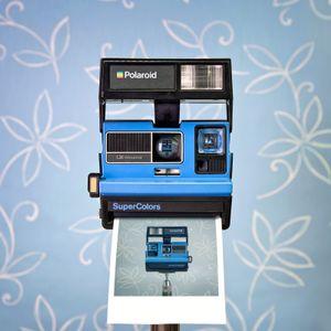 CameraSelfie #76: Polaroid SuperColors
