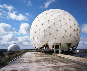 West Germany, Berlin. American listening station constructed by the National Security Agency.