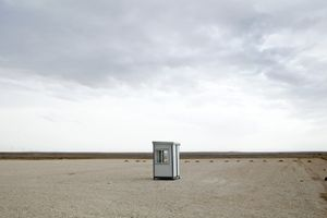 Abandoned guard post. © Tom Verbruggen
