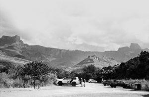 Parkplatz, Drakensberge