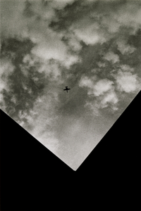 Plane Overheard, Tucson, Arizona, 2014