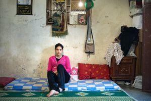 Mariam, Bourj El Shamali Refugee Camp, Tyre Lebanon, 2009